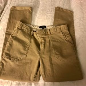 "Banana Republic Khaki ""Sloan"" Pants"